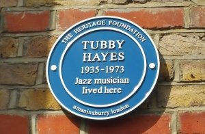 TUBBY HAYES THE HERITAGE FOUNDATION BLUE PLAQUE UNVEILING