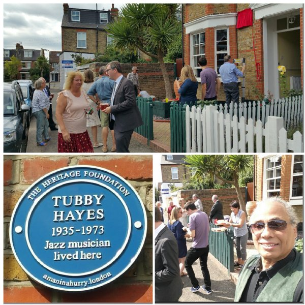 TUBBY HAYES - THE HERITAGE FOUNDATION BLUE PLAQUE